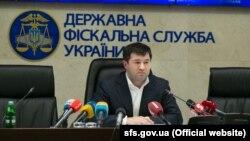 Голова Державної фіскальної служби Роман Насіров