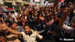 مظاهرة في كربلاء تطالب بغلغاء الرواتب التقاعدية للبرلمانيين