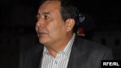 """Дос Кошим, руководитель движения """"Улт тагдыры"""". Талдыкорган, 20 октября 2009 года."""