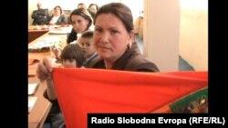 Ремзија Лазри, граѓанска активистка.