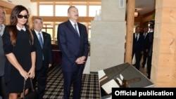 Azerbaijan - Azerbaijani President lham Aliyev visits Guba, 18Sep2013.