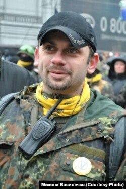 Андрей Левус, теперь уже бывший активист самообороны Майдана