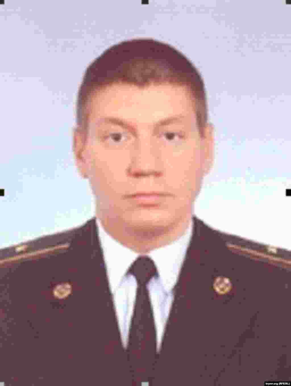 Алексей Тесов, экс-старший оперуполномоченный по особо важным делам крымского главка СБУ, майор