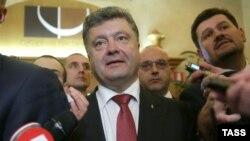 Украина президенті Петр Порошенко. Милан, 17 қазан 2014 жыл. (Көрнекі сурет)