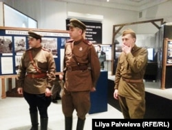 "Сотрудники РВИО на выставке ""Советский Нюрнберг"""