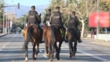 Montenegro - The Montenegrin police administration blocked downtown Podgorica because of last night's late call by opposition Democratic Front MPs who were delivering to rally around the Montenegrin parliament over the passage of a law on religious freedo