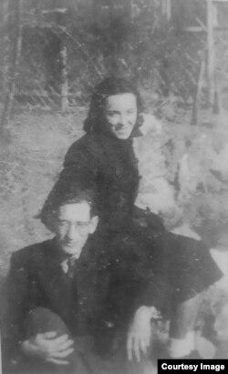 Валерий Перелешин и Лариса Андерсен, Китай, 1940-е гг.