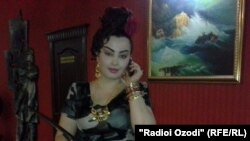 Таджикская певица Фируза Хафизова.