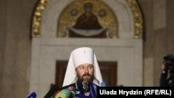 Mitropolitul Ialrion, MInsk, 15 octombrie 2018