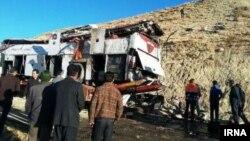 Автобуска несреќа во Иран. Илустрација.