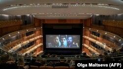 Mariinski Teatrında «Matilda» filminin nümayişi