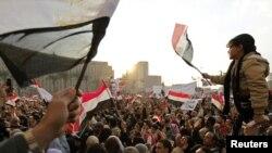 Протесты в Каире 8 февраля