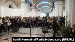 Открытие выставки всемирно известного украинского художника Ивана Марчука. Киев, 13 января 2016 года