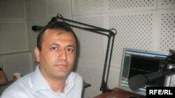 Ахмет Аляз, «Қазақстан-Zaman» газетінің бас директоры. Алматы, маусым, 2009 ж.