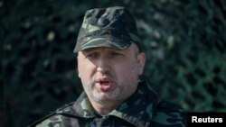 Украина президентінің міндетін атқарушы Александр Турчинов.
