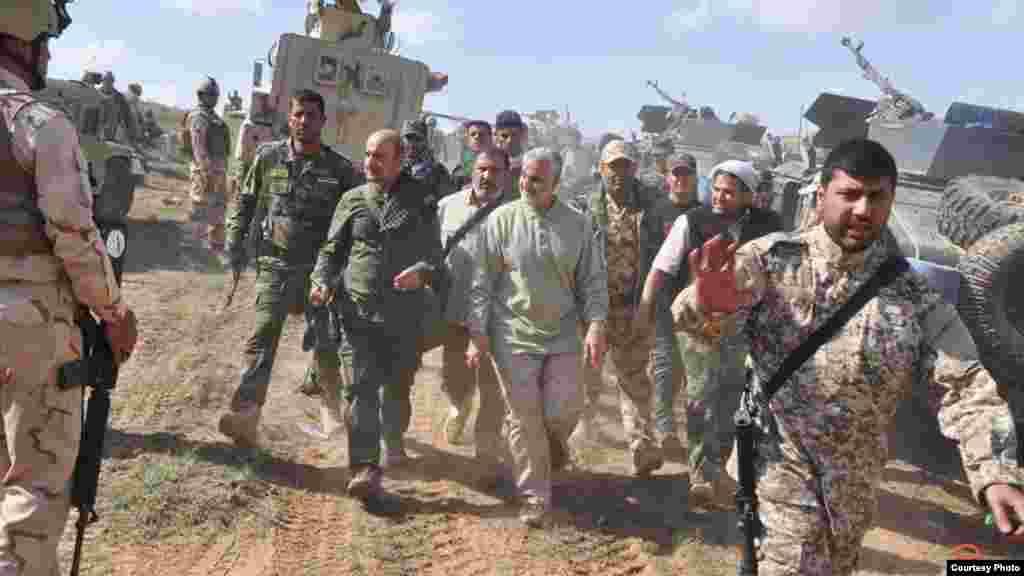 Многие операции вооруженных групп в Сирии и Ираке проходили под личным командованием Сулеймани