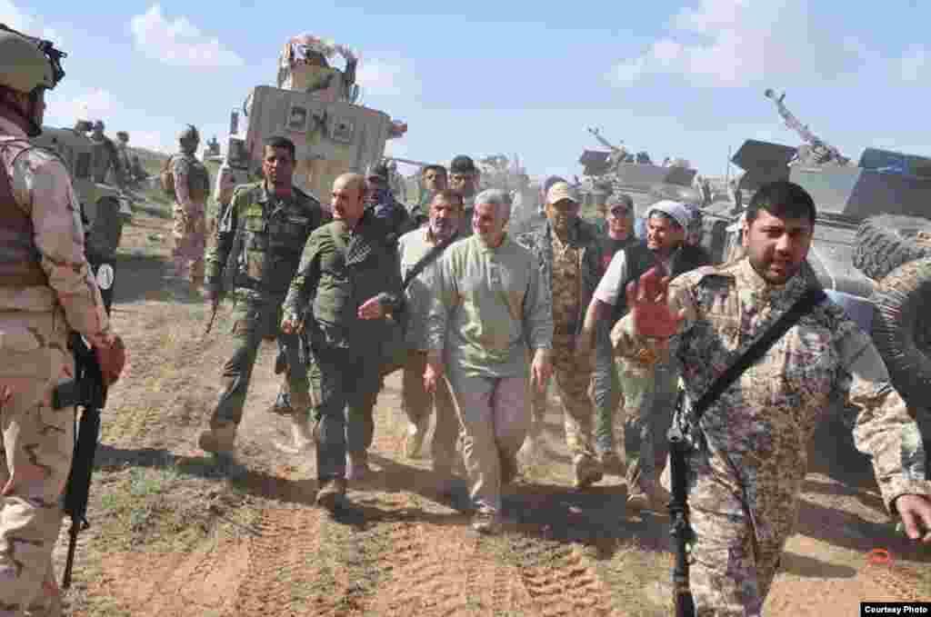 Многие операции вооруженных групп в Сирии и Ираке проходили под личным командованием Сулеймани.