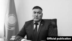 Аким Талгарского района Алматинской области Жолан Умаров.