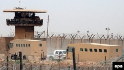 The Abu Ghraib prison in Baghdad