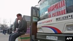 Moskvadan Mahaçkalaya gedən avtobus. 31 mart 2010