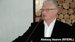 Петр Своик, оппозиционный политик. Алматы, 25 февраля 2014 года.