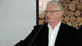 Оппозиционный политик Петр Своик.