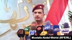 قائد عمليات الفرات الأوسط الفريق الركن عثمان الغانمي