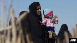 İranlı qadın və uşaq - 2015