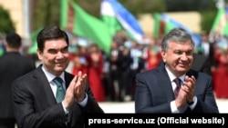 Özbegistanda türkmen prezidentini 'türkmençe' garşyladylar