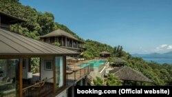 Курорт Four Seasons Resort, Сейшели (фото з сайту booking.com)