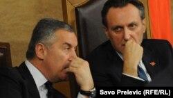 Godinama na istoj strani: Milo Đukanović i Ranko Krivokapić