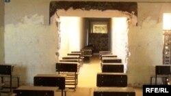 مدرسة معطلة في دهوك