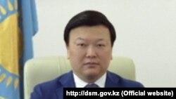 Бывший вице-министр здравоохранения Казахстана Алексей Цой.
