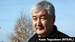 Оппозициялық ЖСДП-ның бас хатшысы, саясаткер Әміржан Қосанов.