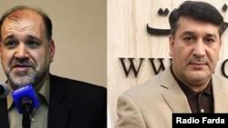 محمد عزیزی (راست) و فریدون احمدی، نمایندگان زنجان و ابهر که متهم به فساد اقتصادی هستند، با وثیقه ۱۰میلیارد تومانی آزاد شدهاند.