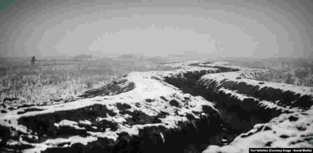 Позиції українських військових в районі Лисичанська (Сектор А). 1 грудня 2015 року.Фото: Юрій Величко