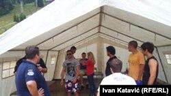 Međunarodni mirovini omladinski kamp na Igmanu