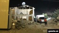 Снос частных домов на массиве Себзар в Ташкенте. Фото взято с сайта Gazeta.uz.