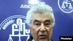 Бывший глава Высшего судебного совета Гагик Арутюнян, Ереван, 24 мая 2019 г.