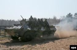 Тренування в Нових Петрівцях, 31 квітня 2014 року
