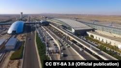 Imam Khomeini International Airport. Tehran. Undated.