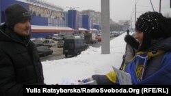Активісти закликають до бойкоту бізнесу регіоналів, Дніпропетровськ, 8 лютого 2014 року