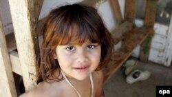 Iz izbjegličkog kampa u Salakovcu, u kojij su smješteni uglavnom Romi