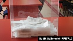 Bosnia and Herzegovina - Voting in Srebrenica on referendum in Republika Srpska entity about the official Republika Srpska Day - September 25th 2016