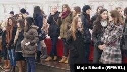 Studentski protest u Tuzli zbog Erasmusa