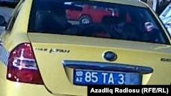 Naxçıvan. Lifan taksi