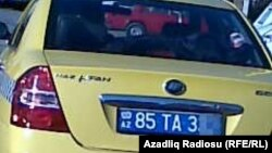 Arxiv fotosu: Naxçıvanda taksi