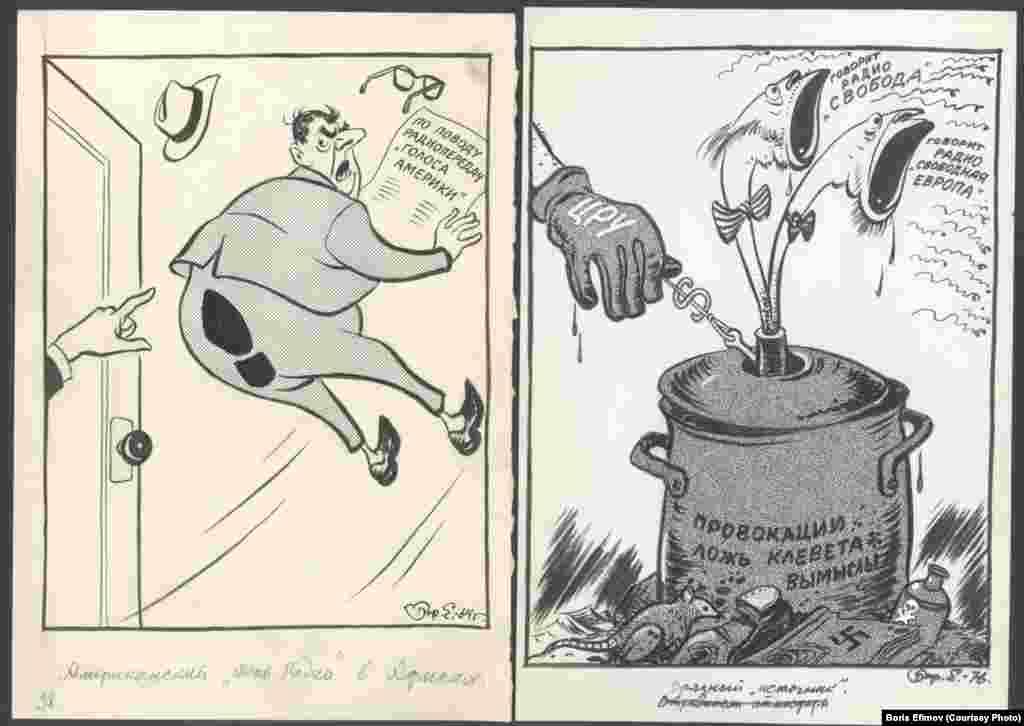 Борис Ефимов прожил долгую, насыщенную историческими событиями жизнь, он говорил: «Судьба ко мне была благосклонна, с Муссолини здоровался за руку, обедал у Тито, Троцкого проводил в изгнание, со Сталиным говорил по телефону и провожал Луначарского»
