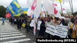 Митинг по проблеме статуса русского языка в Харькове. Украина, 30 августа 2012 года.