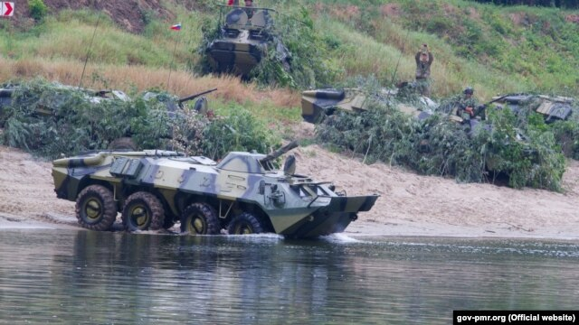 Chisinau has described Russian military drills in Transdniester as illegal.